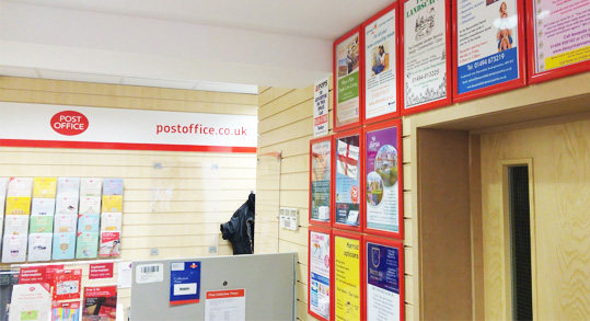 Post Office Ads